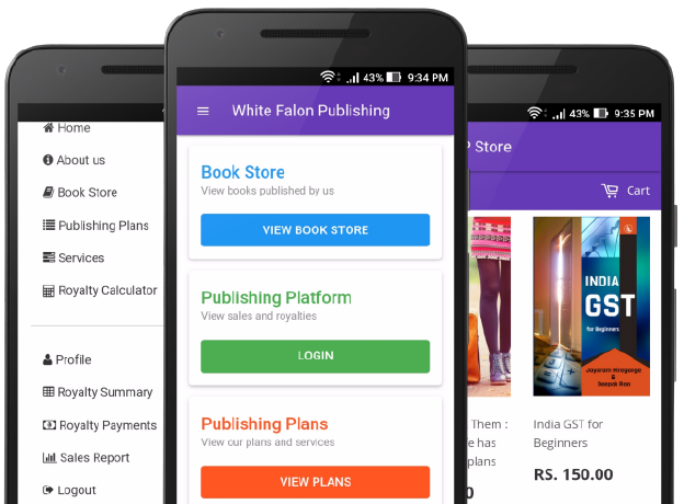 White Falcon Publishing Android App